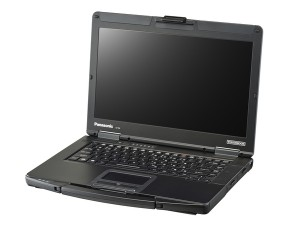 Panasonic Toughbook 14 FHD Touch, Core™ i5-7300U, 4GB DDR4, 500GB HDD, Intel® HD Graphics 620, Win10Home fekete notebook