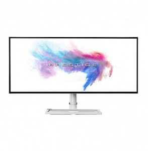MSI Prestige PS341WU - 34-Colos Fehér-ezüst WUHD 21:9 60Hz 8ms LED IPS Monitor