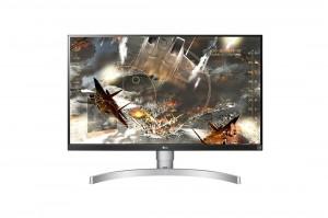 LG 27UL650-W.AEU - 27-Colos Fekete-ezüst UHD 16:9 60Hz 5ms LED IPS Monitor