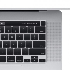 Apple Retina MacBook Pro 16 Retina Touch bar & ID, Intel® Core™ i9 - 2,3 Ghz, 16GB, 1TB SSD, AMD Radeon Pro 5500M - 4GB, MacOS, ezüst notebook