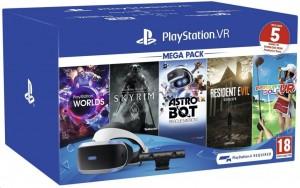 Sony PlayStation VR v2 Mega Pack 2, 5db játékkal