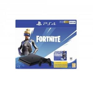 Sony PlayStation 4 (PS4) Slim 500GB + Fortnite extrák v2