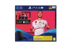 Sony PlayStation 4 (PS4) Pro 1TB fekete + FIFA 20
