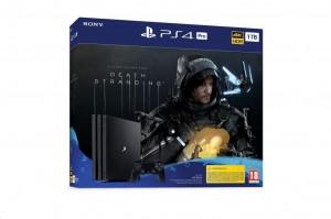 Sony PlayStation 4 (PS4) Pro 1TB fekete + Death Stranding játék