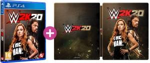WWE 2K20 Steelbook Edition (PS4)