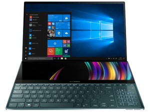 ASUS ZenBook Pro Duo UX581GV-H2001R 15,6 UHD/Intel® Core™ i9-9980HK/32GB/1TB SSD/RTX 2060 6GB/Win10 Pro/kék laptop