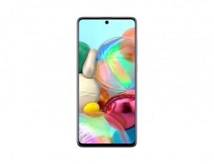 Samsung Galaxy A71 128GB 6GB LTE DualSim Ezüst Okostelefon