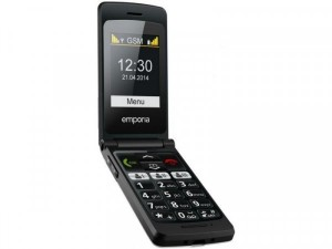 Emporia Talk Smart V800 Fekete Mobiltelefon