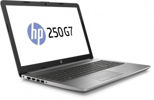 HP 250 G7 8AC86EA - 15.6 Matt FHD, Intel® Core™ i3 Processzor-8130U, 4GB, 1TB, DVD-RW, Intel® UHD Graphics 620, DOS, Ezüst Laptop