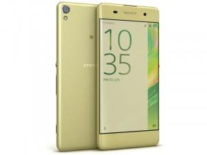 Sony Xperia XA 16GB 2GB LTE Lime Arany Okostelefon