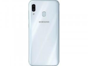 Samsung Galaxy A30S A307 128GB 4GB LTE DualSim Fehér Okostelefon