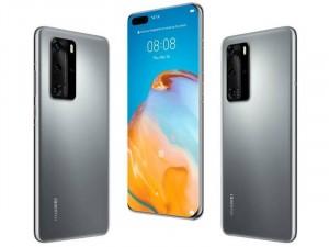 Huawei P40 128GB 8GB 5G DualSim Ezüst Okostelefon