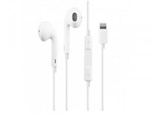 Apple Earpods Vezetékes , Lightning csatlakozós Fehér sztereó Fülhallgató