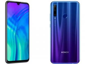 Honor 20 Lite 128GB 4GB LTE DualSim Kék Okostelefon