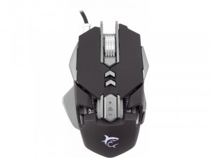 WHITE SHARK GM-5001 SHAKA ZULU GAMING Fekete Egér