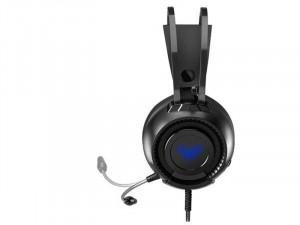 Aula Colossus Gaming Fekete Fejhallgató