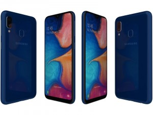 Samsung Galaxy A20e A202 32GB 3GB LTE DualSim Kék Okostelefon