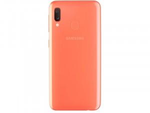 Samsung Galaxy A20e A202 32GB 3GB LTE DualSim Korall színű Okostelefon