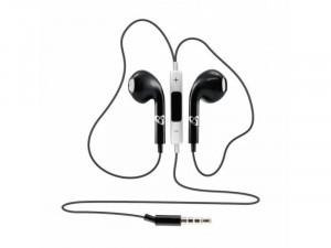 SBOX IEP-204B Mikrofonos Fekete Fülhallgató