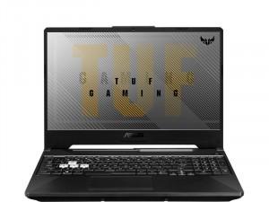 Asus TUF Gaming A15 FX506II-HN187 - 15,6 Matt 144Hz FHD, AMD Ryzen 5 4600H, 8GB DDR4, 1TB HDD, Geforce GTX 1650 Ti 4GB, FreeDOS, Fekete Laptop