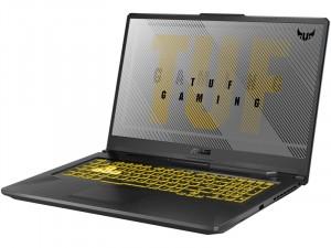 Asus TUF Gaming A17 FX706II-H7008 - 17,3 Matt IPS 120Hz FHD, AMD Ryzen 7 4800H, 8GB DDR4, 512GB SSD, GeForce GTX 1650 Ti 4 GB GDDR6, FreeDOS, Szürke Laptop