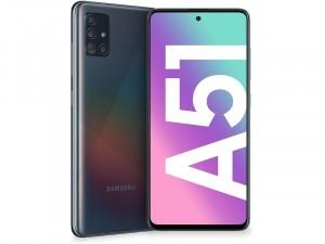 Samsung Galaxy A51 128GB 4GB LTE DualSim Fekete Okostelefon