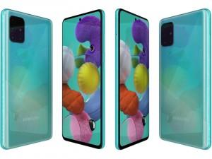 Samsung Galaxy A51 128GB 4GB LTE DualSim Kék Okostelefon