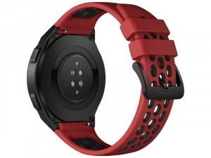Huawei Watch GT 2e 46mm Piros Okosóra szilikon szíjjal