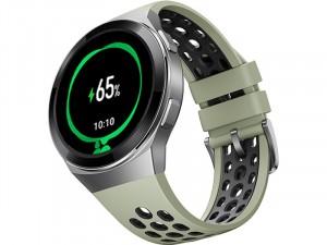 Huawei Watch GT 2e 46mm Zöld Okosóra szilikon szíjjal