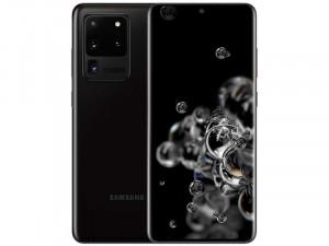 Samsung Galaxy S20 Ultra 5G G988 128GB 12GB DualSim Kozmosz Fekete Okostelefon