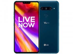 LG V40 ThinQ 128GB 6GB LTE DualSim Kék Okostelefon