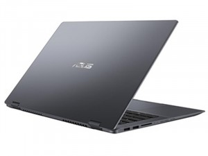 Asus VivoBook Flip 14 TP412FA - 14 FHD Fényes, Intel® Core™ i3 Processzor-10110U, 4GB DRR4, 128GB SSD, Intel® UHD Graphics, Windows 10 S, Sötétszürke, Laptop