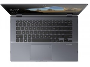Asus VivoBook Flip 14 TP412FA-EC107T - 14 FHD Fényes, Intel® Core™ i5 Processzor-8265U, 8GB DDR4, 256GB SSD, Intel® UHD Graphics 620, Windows 10, Sötétszürke, Laptop