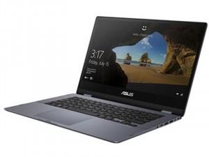Asus VivoBook Flip 14 TP412FA-EC473T - 14 FHD Fényes, Intel® Core™ i7 Processzor-8565U, 8GB DDR4, 256GB SSD, Intel® UHD Graphics 620, Windows 10, Sötétszürke, Laptop