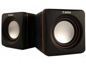 SBOX SP-02 2.0 Fekete Hangszóró 6W