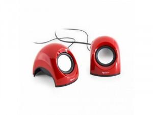 SBOX SP-092R 2.0 Piros Hangszóró 6W