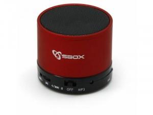 SBOX BT-160R Piros Bluetooth hangszóró