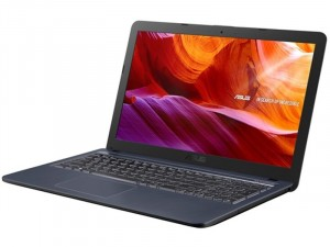 Asus VivoBook X543BA-GQ777- 15.6 HD Matt, AMD Dual Core™ E2-9000, 4GB DRR4, 256GB SSD, AMD Radeon R2, Endless , Sötétszürke, Laptop