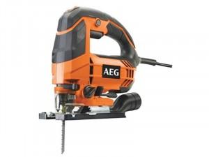AEG 650 W kengyelfogantyús szúrófűrész - 1 x fűrészlap, felszakadás gátló, FIXTEC - STEP100X