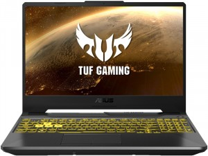 Asus TUF Gaming A15 FX506II-AL020 - 15,6 Matt 144Hz FHD, AMD Ryzen 5 4600H, 8GB DDR4, 512GB SSD, Geforce GTX 1650 Super 4GB, FreeDOS, Szürke Laptop