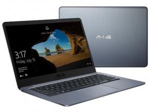 Asus VivoBook E406MA-BV284T - 14 HD, Intel® Pentium® Quad Core™ N5000, 4GB, 128GB eMMC, Intel® UHD Graphics 605, Windows® 10 S, Sötétszürke Laptop