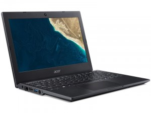 Acer Travelmate TMB118-M-P9NQ 11.6 Matt HD, Intel® Pentium N5000, 4GB, 128GB SSD, UHD Graphics 605, Linux, fekete laptop
