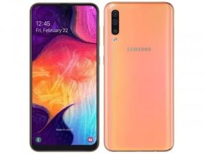 Samsung Galaxy A50 128GB 4GB DualSim Piros Okostelefon