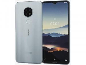 Nokia 7.2 128GB 6GB LTE DualSim Jég Ezüst Okostelefon