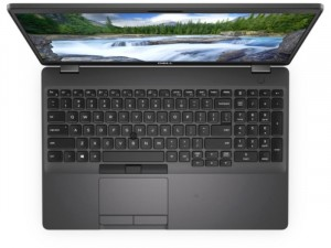 Dell Latitude 5501 notebook FHD W10Pro Ci5 9400H 16GB 512GB UHD630, Fekete Laptop