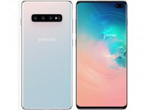 Samsung Galaxy S10+ G975 128GB 8GB LTE DualSim Fehér Okostelefon