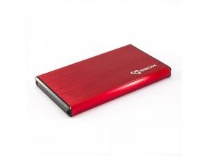 Sbox HDC-2562R USB 3.0 HDD ház 2,5 SATA, piros