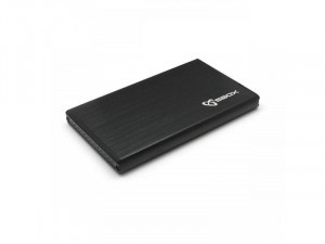 Sbox HDC-2562B USB 3.0 HDD ház 2,5 SATA, fekete
