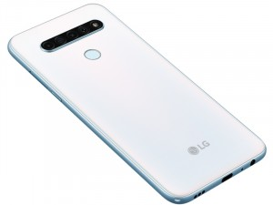 LG K61 128GB 4GB LTE DualSim Fehér Okostelefon