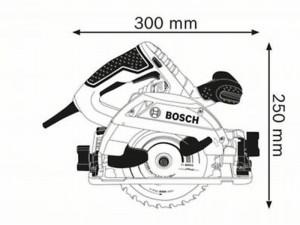 Bosch GKS 55+ GCE körfűrész